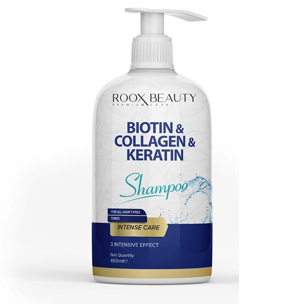 Roox Beauty Biotin-Collagen-Keratin Shampoo